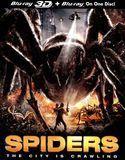 Spiders [3D] [Blu-ray] [Blu-ray/Blu-ray 3D] [2011]