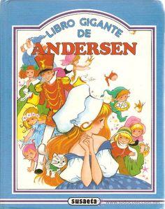 Libro Gigante de Andersen, Ilustrado por María Pascual. En Fluff algunos de nosotros crecímos con los cuentos maravillosamente ilustrados por María Pascual #querecuerdos!