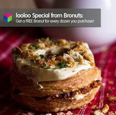 A looloo Special from our bros at Bronuts! Redeem it with your #loolooapp at their SM City Taguig (SM Aura) outlet!   Check out reviews and everything about them here: http://looloo.com/p/37664-bronuts