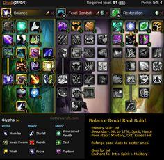 Balance Druid Raid Build - #warcraft http://gotwarcraft.com/balance-druid/