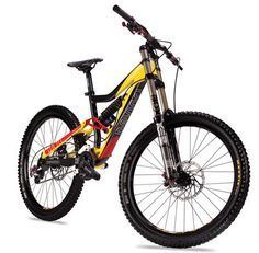 Devinci Downhill Bike hell yeah BOUGHT this today - what better motivation to get better? I was so stoked I hugged the sales guy at cove!!!!