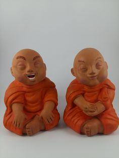 Esculturas Monges Budistas
