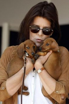 The Long and Short of it All: A Dachshund Dog News Magazine: Royal Dachshund Watch: Caroline, Princess of Hanover