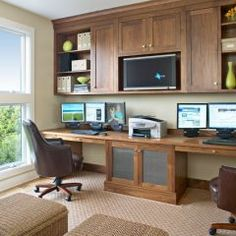 Fabulous Great Double Office Desk Interior Design Beautiful Home Office Largest Home Design Picture Inspirations Pitcheantrous
