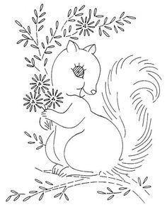 Redwork Embroidery baby quilt animals 2 f Hand Embroidery Patterns Free, Machine Embroidery Quilts, Christmas Embroidery Patterns, Baby Embroidery, Embroidery Transfers, Vintage Embroidery, Cross Stitch Embroidery, Quilting, Embroidery Sampler