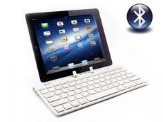 Teclado Bluetooth con Stand para iPad, Tablets y Smartphones