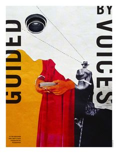 GigPosters.com - Guided By Voices - Détective - Lure Design