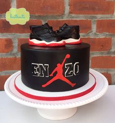 Michael Jordan cake  Basketball cake Basketball party decor
