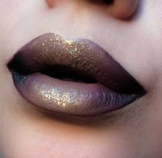 M.A.C Cosmetics. Black to Mauve Purple to Taupe and a little bit of Glitter. Want more makeup ideas? Follow http://uk.pinterest.com/LavishDevota/make-up-glamour/