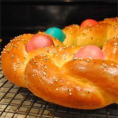 Braided Easter Egg Bread - Allrecipes.com