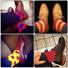 Colorful Socks by Soxy.