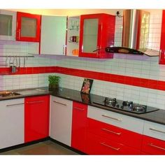 L Shaped Modular Kitchen Designs Catalogue  Google Search  Stuff Custom Modular Kitchen L Shape Design 2018