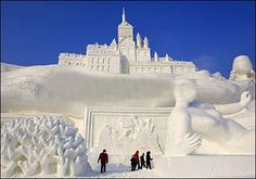 quebec winter carnival...would love to go back for this!