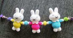 Mesmerizing Crochet an Amigurumi Rabbit Ideas. Lovely Crochet an Amigurumi Rabbit Ideas. Crochet Baby Toys, Crochet Diy, Easter Crochet, Love Crochet, Crochet For Kids, Crochet Crafts, Baby Knitting, Crochet Projects, Amigurumi Free