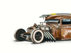 Surf Rat Rod