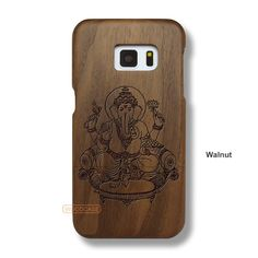 Vinayaka Galaxy S7 Case - Galaxy S7 Solid Total Wood Case - SDTRE0150