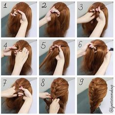 Surprising Beautiful Hairstyle For Long Hair And Long Hair On Pinterest Hairstyles For Women Draintrainus