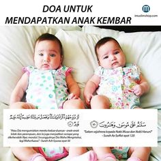 mohon dapat anak kembar Islamic Quotes Wallpaper, Islamic Love Quotes, Islamic Inspirational Quotes, Muslim Quotes, Doa Islam, Islam Quran, Doa Ibu, Pray Quotes, Life Quotes