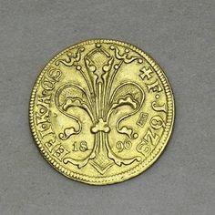 Extrémně vzácný dukát/ Florén Karla Roberta vyražený k 1000. výročí příchodu Maďarů!  Mince je vyražena tak, aby co nejvíce napodobovala originální minci ze 14. století!  Toto je jedna z nejvzácnějších a nejdražších mincí FJ I.!  Hmotnost: 3,54 g   Materiál: Zlato 986/1000  Mincovna: Kremnica  Raženo jen 100 kusů! Coins, Personalized Items, Rooms