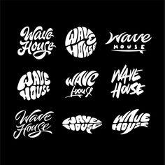 Lettering 2016 on Behance Calligraphy Letters, Typography Letters, Lettering Styles, Letter Art, Graffiti Art, Logo Design, Design Inspiration, Branding, Logos