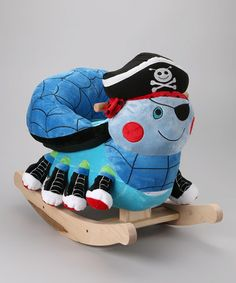 Take a look at this Ocho the Pirate Spider Rocker by Rockabye on #zulily today!