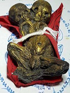 Phra Narai Ride Krut Garuda Thai Buddha Amulet Statue Buddhist Collectible Gold