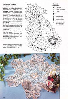 Kira scheme crochet: Scheme crochet no. Crochet Stars, Thread Crochet, Love Crochet, Learn To Crochet, Crochet Doilies, Filet Crochet, Irish Crochet, Doily Patterns, Crochet Patterns