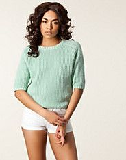 Binie 2/4 Knit Pullover, Selected Femme