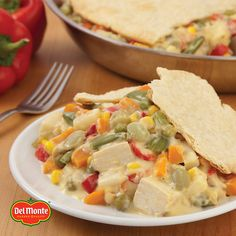 We're already thinking about leftovers! Turkey pot pie is easy with Del Monte vegetables and leftover turkey.