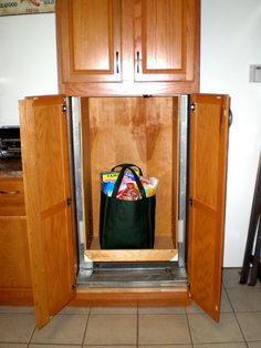 Cynergy Lifts specializes in installing Dumbwaiter Lift Systems for Indoor and Outdoor requirements in commercial and residential buildings. Laundry Chute, Laundry Room, Home Crafts, Home Projects, Dumb Waiter, Container Size, Street House, House Elevation, Butler Pantry