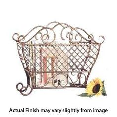 Elegant Magazine Holder Decretive Mail Magazine Wall Mounted Antique Finish Metal Holder 17