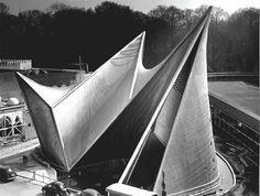 Le Corbusier, Iannis Xenakis, Edgar Varese, Phillips Pavillion