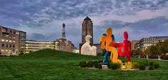 The John and Mary Pappajohn Sculpture Park  - Des Moines, IA