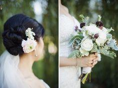 Lucida Photography | Alicia Keats Weddings + Events | Bridal Bouquet rustic berries natural