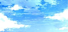 Sky Anime, Blue Anime, Background Drawing, Background Pictures, Hd Sky, Poses Anime, Cloud Illustration, Cute Bear Drawings, Episode Backgrounds