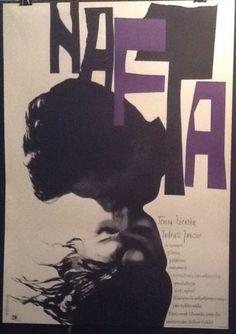#art 1961 Roman Cieslewicz NAFTA - The Oil Original Polish movie poster RARE please retweet