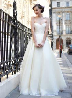 Stephanie Allin vestidos de novia Primavera - Verano 2014.