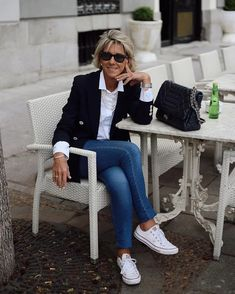 Womens Style Discover Best Outfits For Women Over 50 - Fashion Trends Over 60 Fashion Over 50 Womens Fashion 50 Fashion Fashion Tips For Women Look Fashion Plus Size Fashion Autumn Fashion Fashion Outfits Fashion Trends Over 60 Fashion, Over 50 Womens Fashion, Fashion Over 50, Fashion 2020, Look Fashion, Autumn Fashion, Fashion Women, Casual Chic Fashion, High Fashion