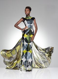 From the archive: a party look from Vlisco's 2012 'Parade of Charm' collection