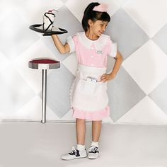 Fab '50s Waitress. Wouldn't this be great for kids who like retro!