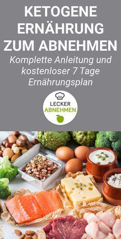 Die ketogene Ernährung ist eine besondere Form von Low Carb, die oft zum Abnehmen verwendet wird. Hier findest du die komplette Anleitung, viele hilfreiche Tipps und einen kostenlosen 7 Tage Ernährungsplan für die ketogene Diät.