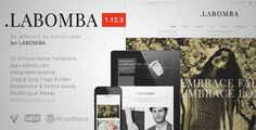 Download and review of Labomba - Responsive Multipurpose WordPress Theme, one of the best Themeforest eCommerces themes