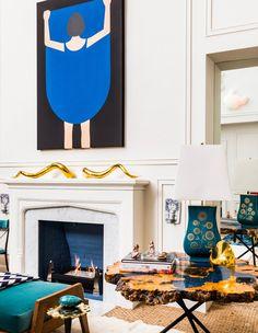Jonathan Adler and Simon Doonan's NY apartment