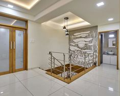 Interior Designing, Room Doors, Staircases, New Room, My Dream Home, Living Room Designs, Smoothies, Theater, Entrance