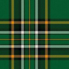 Irish National Tartan - I NEED to make a kilt out of this! Irish Tartan, Tartan Plaid, Dublin, Irish Eyes Are Smiling, Irish Culture, Wool Fabric, Plaid Fabric, Irish Pride, Irish Roots