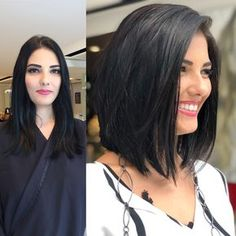 Thick hair styles, Short hairstyles for thick hair, Short hair color, Hair colours Hair, Hair styles - Best Short Hairstyles for Thick Hair 2019 - Short Straight Haircut, Short Hairstyles For Thick Hair, Haircut For Thick Hair, Curly Hair Styles, Short Wavy, Thick Hair Long Bob, Bobs For Thick Hair, Medium Short Haircuts, Thick Hair Styles Medium