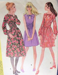Vintage 1970's Dresses