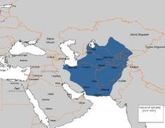 The Samanid dynasty (Persian: سامانیان‎, Sāmāniyān), also known as the Samanid Empire, or simply Samanids (819–999),[4] was a Sunni[5] Persian Empire[6][7][8][9][10] in Central Asia, named after its founder Saman Khuda, a landowner from Balkh,[11] who converted to Islam despite being from Zoroastrian nobility.[12] It was a native Persian dynasty in Greater Iran and Central Asia after the collapse of the Sassanid Persian empire caused by the Arab conquest.
