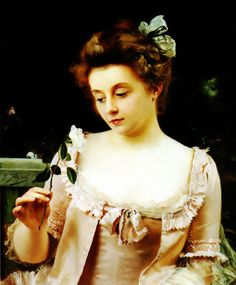 Gustave Jean Jacquet (1846-1909) - A rare beauty