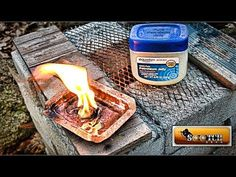 Vaseline (the most popular brand name for petroleum jelly) is surprisingly useful when it comes to disaster preparedness and survival. As Sensible Prepper demonstrates in this video, there's at least a dozen survival uses for Vaseline. Urban Survival, Wilderness Survival, Camping Survival, Outdoor Survival, Survival Prepping, Survival Gear, Survival Skills, Disaster Preparedness, Survival Hacks
